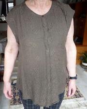 Genuine Monsoon Ladies UK size 24 Green Blouse
