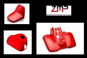 NEW YAMAHA YT60 TRI ZINGER FIGHTING RED COMPLETE PLASTIC FENDER KIT YT 60