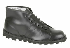Chelsea, Ankle 100% Leather Lace Up Boots for Men
