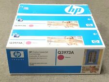 HP Q3973A 123A Magenta Toner Cartridge LaserJet 2840 New Sealed Box Lot Of 3