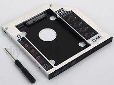 Sata hd 2nd hdd ssd disque dur case caddy pour Dell Latitude E4300 E4310 swap dvd