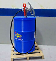 Fuel Barrel Hand Pump Kit 1/10 Shop Action Figure Crawler Dollhouse Diorama