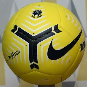 Nike Pitch Premier League Football 2020/2021 Size 5 Soccer Ball - YELLOW