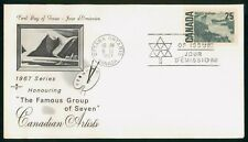 New listing Mayfairstamps Canada Fdc 1967 Painting Famous Group of Seven First Day Cover wwo