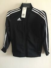 Adidas Tiro 19 Training Jacket Black White Size Small Boy's Only
