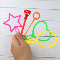 Funny Portable Bubble Wand Tool Bubble Make Outdoor Toy Kid Children Gift 6Pcs