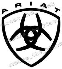 Ariat Decal, Vinyl Sticker, western style cowboy, H.Q.Vinyl - 4x4, ute, truck