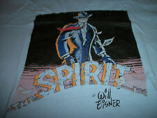 THE SPIRIT Will Eisner VINTAGE T-Shirt GRAFFITI PRESS Mid 1980s Adult L Large