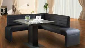 Corner Seat Leather Bench Group Dining Area Colour Choice And Custom Size