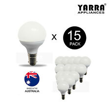 15 x 4.5W G50 LED Globe Bulb Light Full Glass Downlight Bayonet B15 Warm White