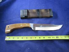 "Vintage hunting knife C. JUl. Herbertz Rostfrei 1654 14"" fixed blade RARE"