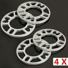 4 X 5MM UNIVERSAL ALLOY WHEEL SPACERS SHIMS SPACER 4 AND 5 STUD FIT