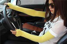Sunscreen Hot Women Colors 20 Cosy Cotton Cool Fingerless Gloves Long Arm