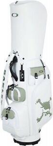 OAKLEY Men's Cart Caddy Bag SKULL GOLF BAG 15.0 Type 9.5 x 47 Inch 4.3kg Japan