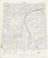 Russian Soviet Military Topographic Maps – URALSK (Kazakhstan), 1:1Mio, ed.1990