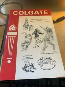 1969 Colgate Football Media Guide