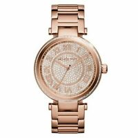 Michael Kors MK5868 Skylar Crystal Pave Rose Gold Tone Wrist Watch