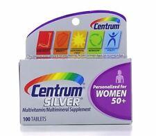 Centrum Silver Ultra Women's Multivitamin/Multimineral Tablet 100 ea (6 pack)