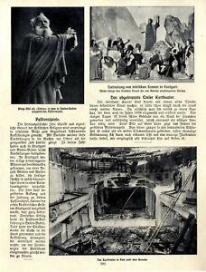 Baden-Baden Passionsspiele Aloys Albl Ems Das abgebrannte Emser Kurtheater 1910