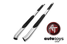 ATU 07-14 Chevy TRAVERSE GMC ACADIA Stainless SIDE STEP NERF BARS RUNNING BOARDS