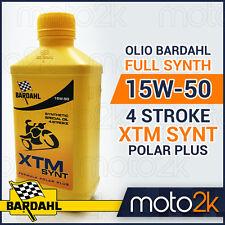 OLIO BARDAHL 100% SINTETICO 15W-50 15W50 4 STROKE XTM SYNT POLAR PLUS - 2 LITRI