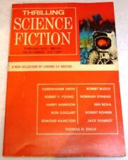 February Vintage Paperback Sci-Fi Magazines