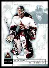 2002-03 Upper Deck Mask Collection Brian Boucher Sean Burke #65