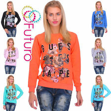Hip Length Crew Neck Floral Jumpers & Cardigans for Women