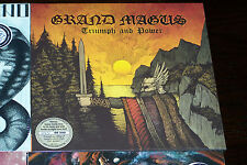 GRAND MAGUS TRIUMPH AND POWER METALLIC SAND VINYL 100 COPIES NUMBERED NEW