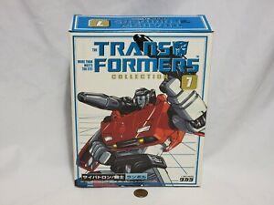 NEW Transformers Takara Collection 7 LAMBOR (Sideswipe) Transformer SEALED Japan