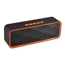 Bluetooth Altavoz Portátil Altavoz Inalámbrica Estéreo USB AUX FM MP3 TF