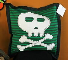 Pottery Barn Kids Skull & Crossbones Sham –Nwt– Arrrrr Your Kids Ready For Fun?