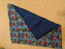 Disney Cars custom handmade crib blanket by Emijane