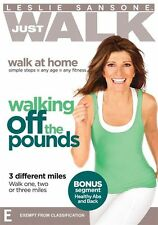 Leslie Sansone Just Walk: Walking Off The Pounds - 3 different miles NEW R4 DVD
