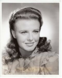 GINGER ROGERS Original Vintage Photo 8x10 KITTY FOYLE Stamped John Miehle
