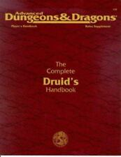 The Complete Druid's Handbook (Advanced Dungeons & Dragons 2nd Ed Rules Suppleme