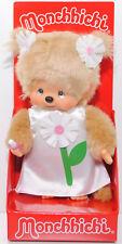 Monchhichi 220458 Flower Girl Margaret mit Blumenkleid Margerite 20 cm Sekiguchi