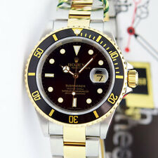 Rolex Submariner Yellow Gold & Steel 40mm 16613LN - WATCH CHEST
