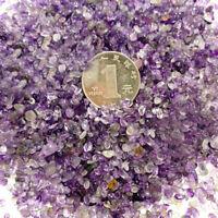 Natural Amethyst Quartz Crystal Mini Stone Rock Chip Gemstone Healing Collection