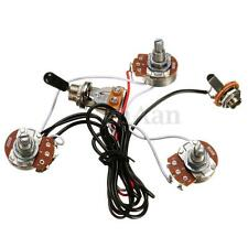 Electric Guitar Parts Wiring Harness 2V1T 500K Pots Tone 3 Way Toggle Switch New