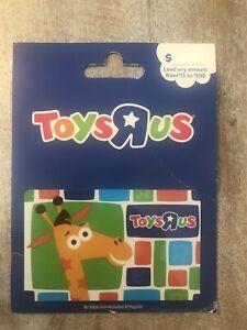 $0 TOYS R US Geoffrey Giraffe on Toboggan 2008 Lenticular Gift Card