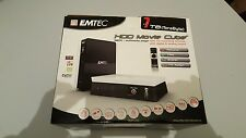 EMTEC HDD Movie Cube s800 Multimedia Player TV Recording 1 TB Nuovo