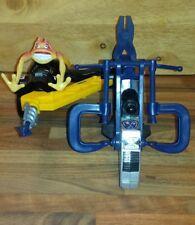 Soldados Vintage Hasbro pequeño ciclo de taladro de alimentación + arañazos-figura de TI 100%