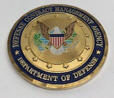 DoD Department of Defense Contract Management Agency Challenge Coin- RARE