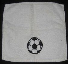 WHITE FLANNEL WITH  FOOTBALL PATTERN