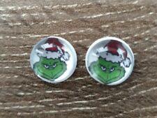 The Grinch Christmas Earrings