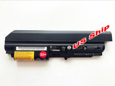 Genuine 33+ Battery For Lenovo Thinkpad R61 R61i T61 T61p T400 R400 14-inch Wide