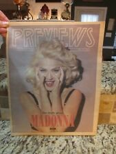 VINTAGE MAY 10 1991 PREVIEWS THE RECORD NEWSPAPER MAGAZINE MADONNA TRUTH MS299