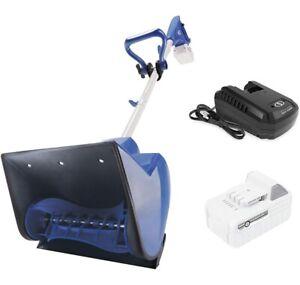 Snow Joe 24-Volt Cordless Snow Shovel with Battery & Charger ~ 24V-SS11-XR