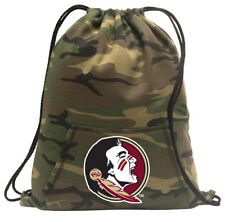 Florida State Cinch Pack Backpack COOL CAMO FSU Bags FOR SCHOOL OR TRAVEL!